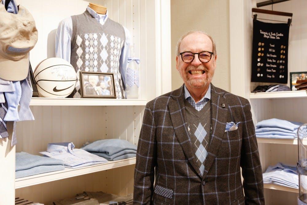 Meet the man behind the classic Carolina argyle