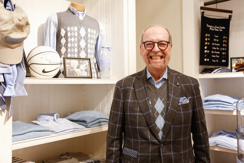 "Chapel Hill native and fashion designer Alexander Julian says, ""I'm not known for fashion anymore. I'm known for argyles"". The Julian's storeowner redesigned the basketball team uniforms with and added the original argyle in 1991."