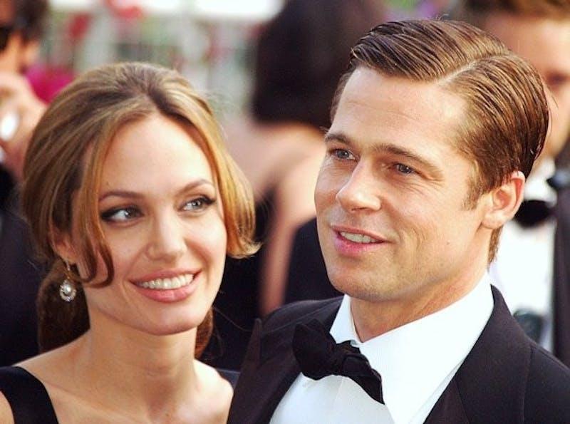 Brad Pitt and Angelina Jolie. Photo taken from Wikipedia.
