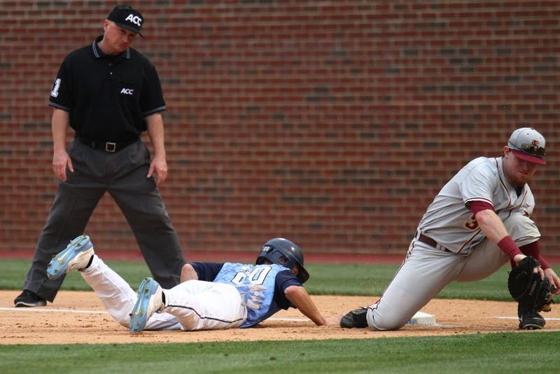 Photos from UNC baseball's game against Florida State University on May 9, 2014 in Boshamer Stadium in Chapel Hill. UNC lost 7-0.