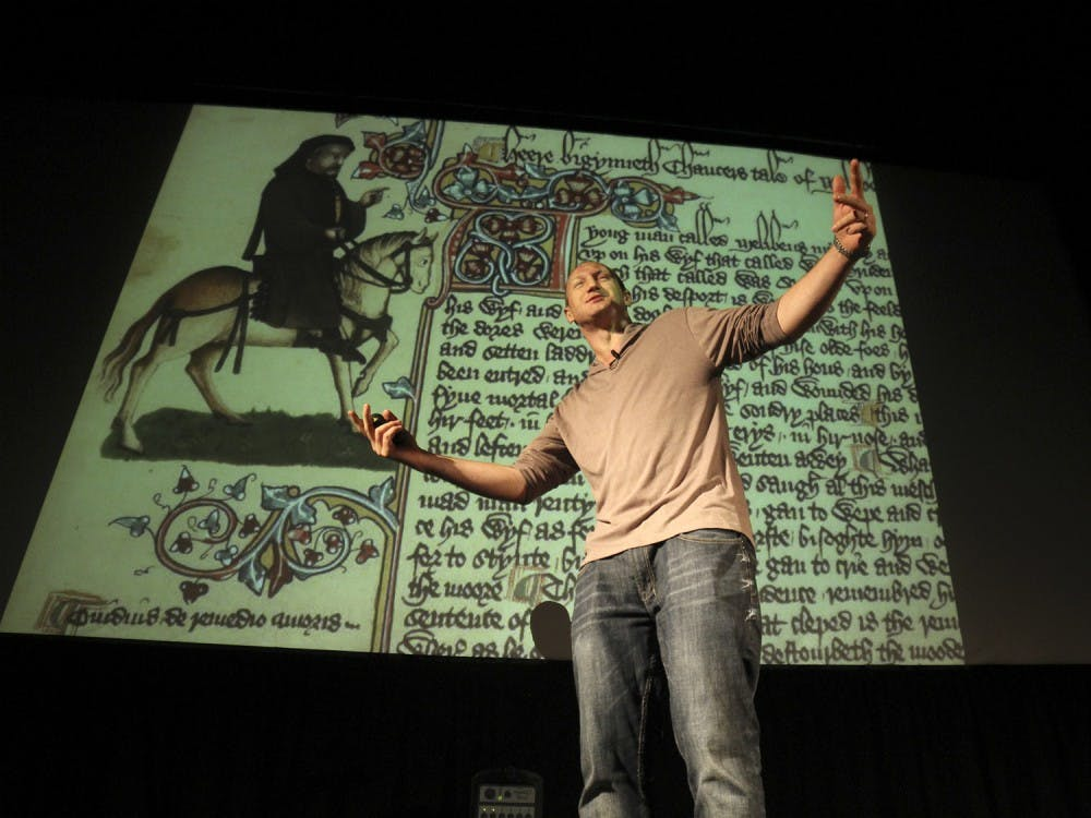 Canterbury Tales' rhymes remixed