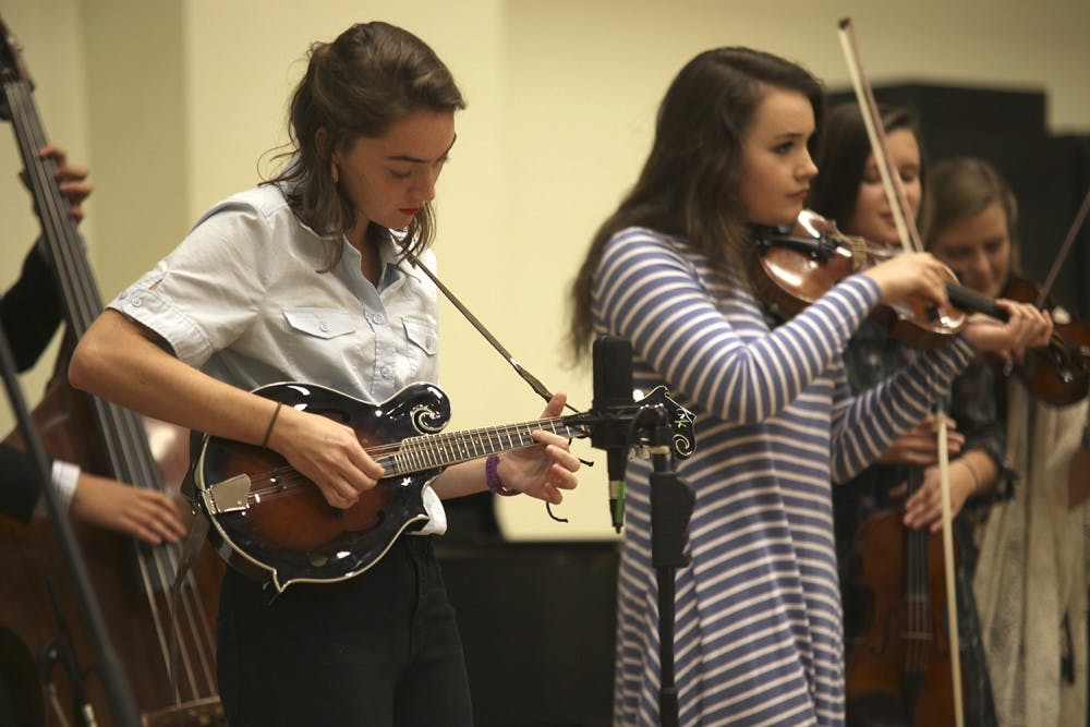 Carolina band goes back to bluegrass roots
