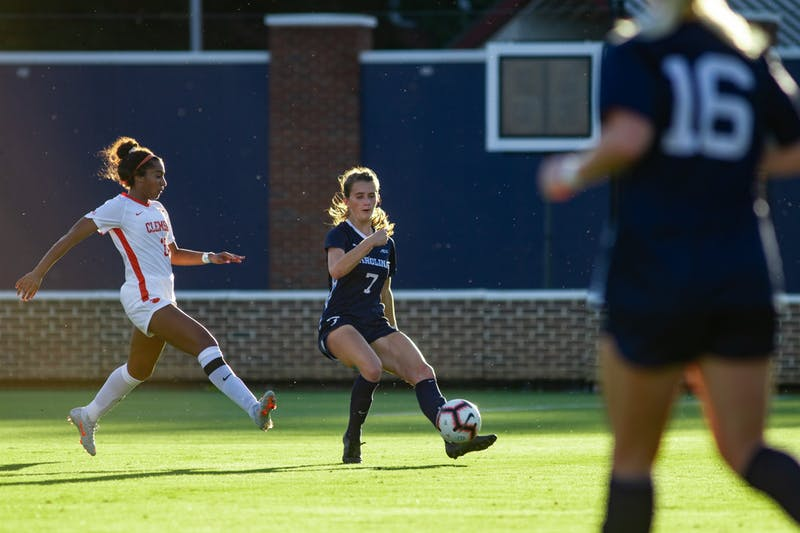 Despite two-sport start, UNC's Julia Dorsey envisions pro soccer career over lacrosse