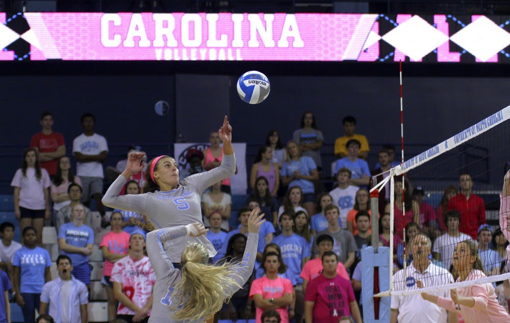 UNC volleyball returns to form, continues hot October start