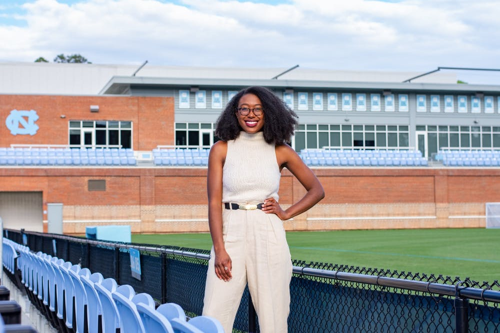 <p>Amari Pollard is a second year graduate student studying communications. Through Amari Pollard's ESPN halftime show, she serves to amplify Black voices and Women's Lacrosse.</p>