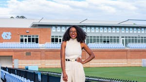 Amari Pollard is a second year graduate student studying communications. Through Amari Pollard's ESPN halftime show, she serves to amplify Black voices and Women's Lacrosse.