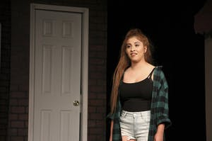 """North Carolina junior Stefanie Clinton performs in Pauper Players' production of """"In the Heights"""" last weekend.Photo Courtesy of Stefanie Clinton."""