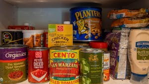 DTH Photo Illustration depicting non-perishable food items, one of the resources being provided by the Carrboro-based Refugee Support Center