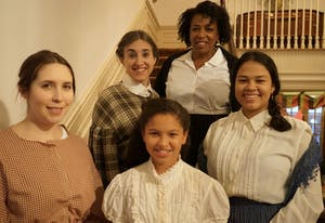 """The Women's Theatre Festival is putting on an immersive performance of """"Little Women."""" Photo courtesy of Nick Popio."""