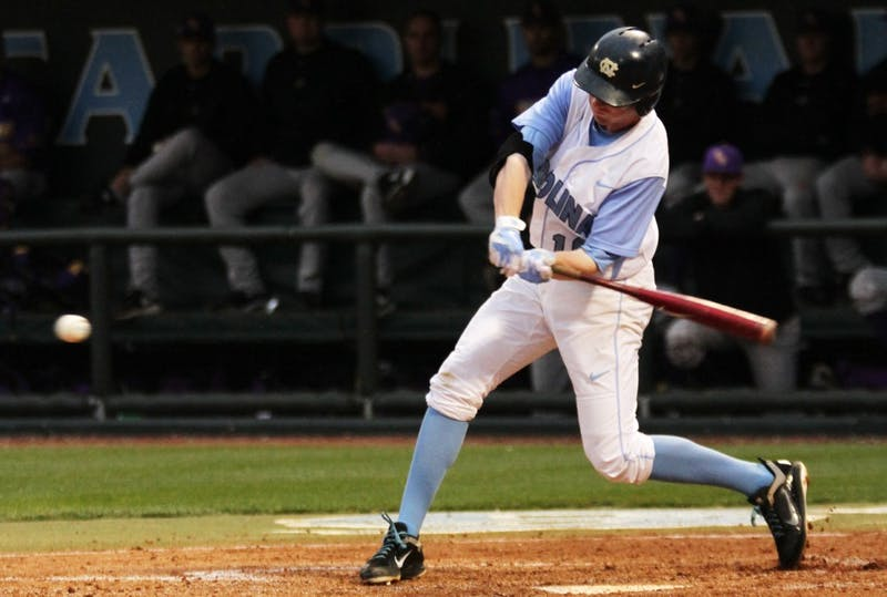 The Tar Heels defeated the ECU Pirates 5-3 on April 12.