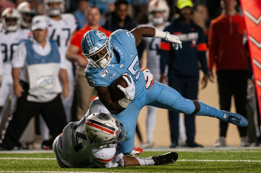 Take a look at UNC football's senior day matchup with Mercer as season winds down