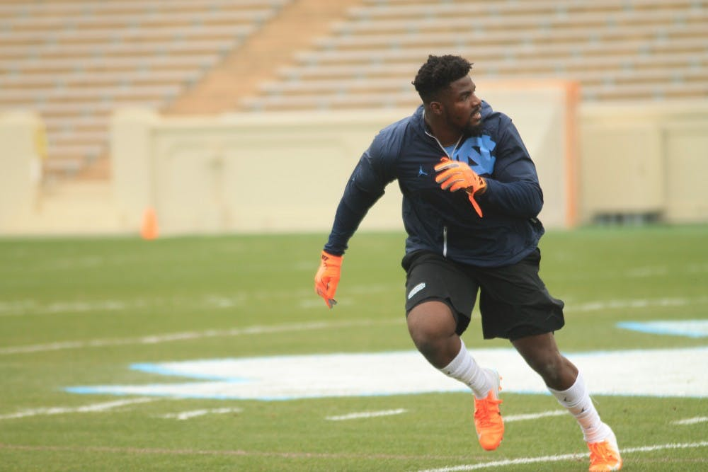 Potential draftees M.J. Stewart, Andre Smith highlight UNC football's Pro Day