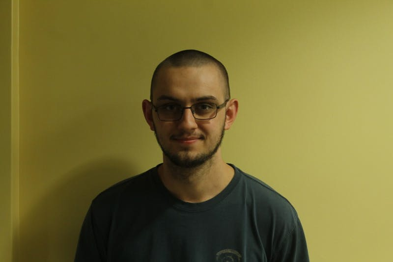 UNC student Henry McKeand worked in the SITES computer lab last year.