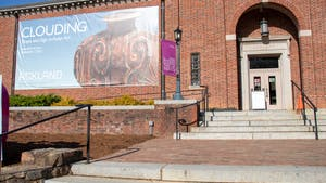The Ackland Art Museum sits on Columbia Street in Chapel Hill on April 6, 2021.