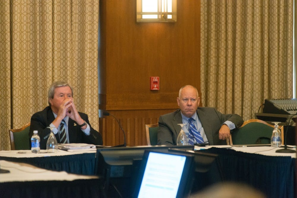 Board of Trustees received an update on life at UNC