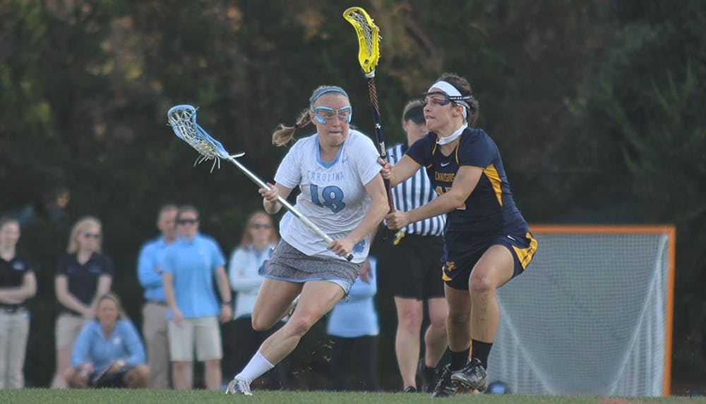 UNC women's lacrosse remains unbeaten in win against Vanderbilt