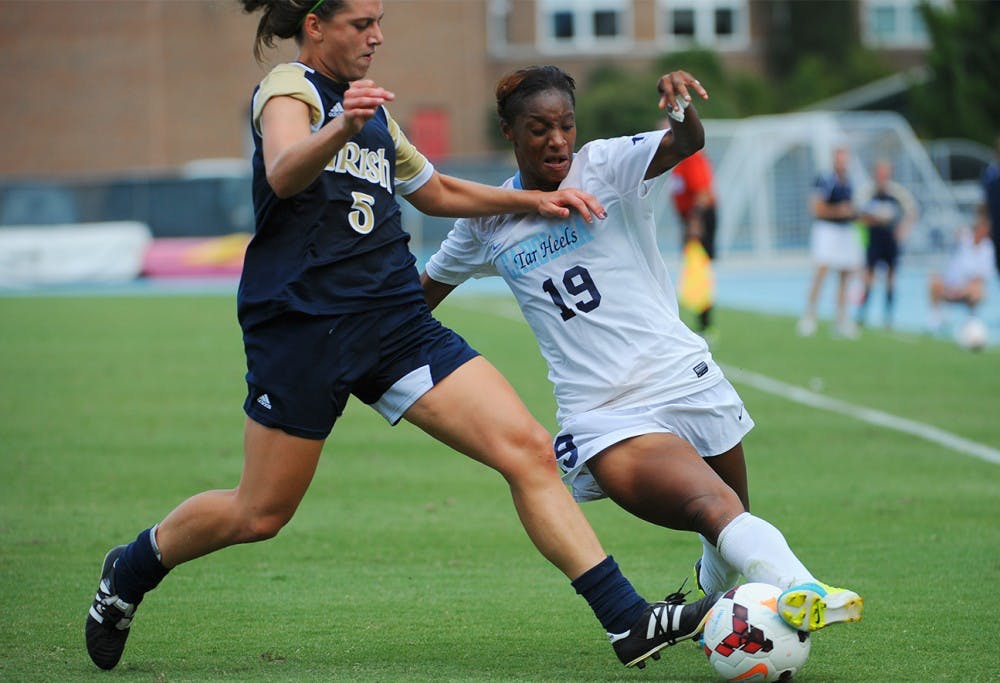 Notre Dame hands UNC its first loss of the season