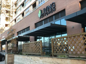 The Living Kitchen is closing its location in Chapel Hill at the Berkshire Chapel Hill Apartments.