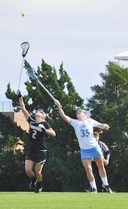 Women's lacrosse v. Vanderbilt, Sunday.