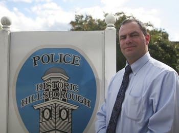 Duane Hampton, currently a lieutenant with the Durham Police Department, will become the chief of police for the town of Hillsborough on Nov. 1.
