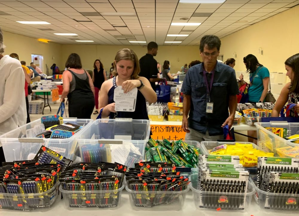 Chapel Hill-Carrboro schools community takes stress off teachers with free supplies