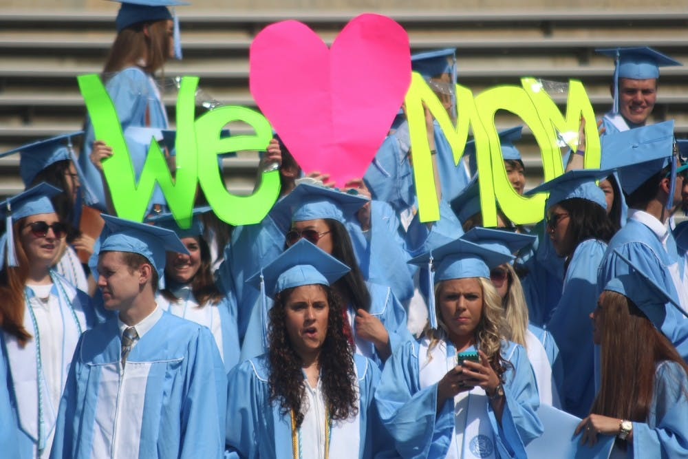 Spring commencement address may move from Mother's Day slot in 2018