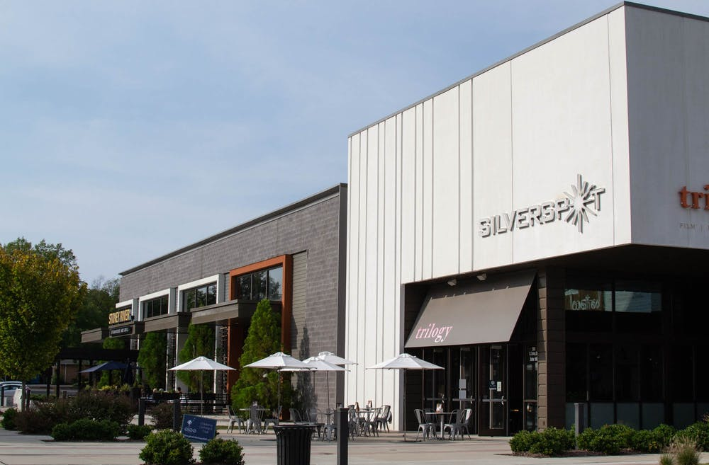 <p>Local 506 and Silverspot Cinema at University Place shopping mall on Sunday, Oct. 4, 2020. Bars and cinemas like these are businesses that are reopening as NC moves into Phase 3 of coronavirus recovery.</p>