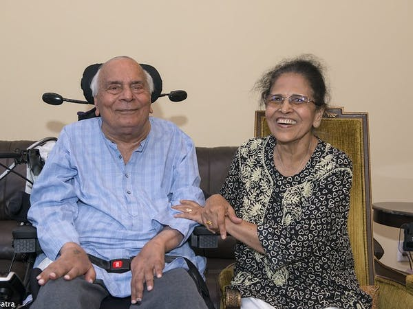 Shobha Wadhwa and Ajit Kumar