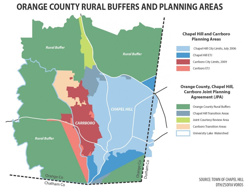 Thousands of acres off limits for urban development in Orange County