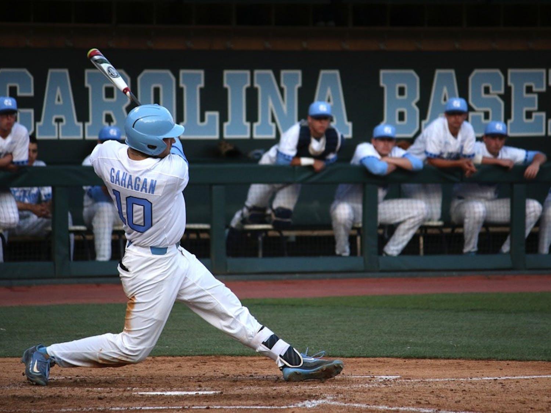 UNC baseball defeats East Carolina University 9-1 on Tuesday night.