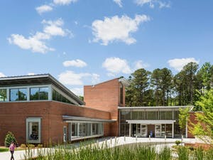 The Chapel Hill Public Library. Photo courtesy of Daniel Siler.