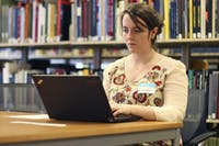 Laura Fogarty participates in the Wikipedia Edit-A-Thon hosted by the Art and Museum Library and Information Society. Fogarty is an officer in the organization.