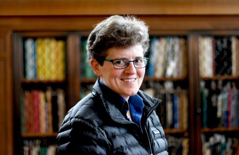 María DeGuzmán is a Eugene H. Falk Distinguished Professor of English & Comparative Literature at UNC and the founding director of the Latina/o studies program. Photo courtesy of the UNC Digital Literacy and Communications Lab.
