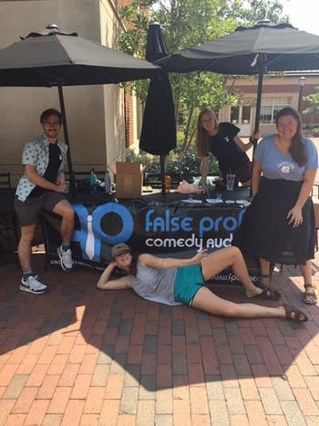 "The False Profits show ""False Profits 2: 2 Funny 2 Furious"" will be performed at Hanes Art Center on Friday at 8 p.m. Photo courtesy of Ellie Rodriguez."