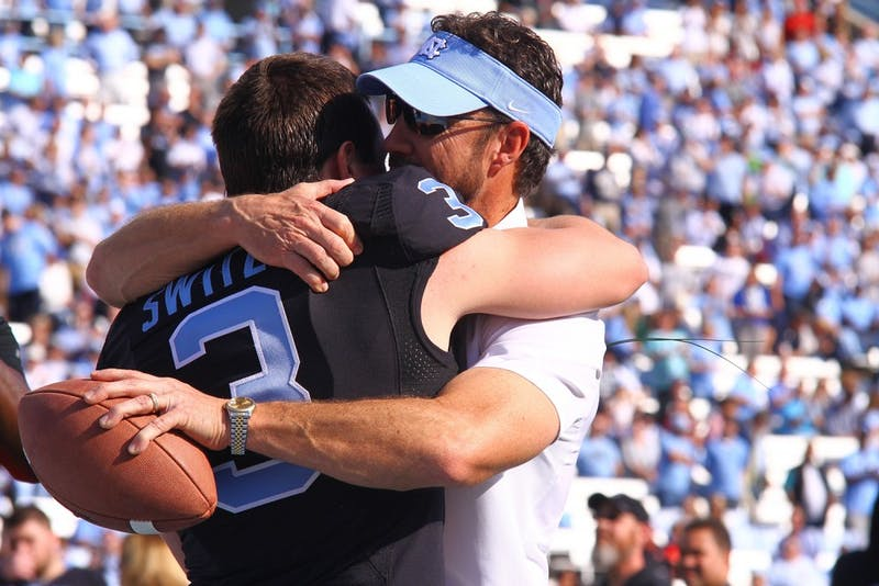 In his sixth season as the North Carolina head coach, Larry Fedora will have his toughest test yet as he replaces key offensive skill position players.