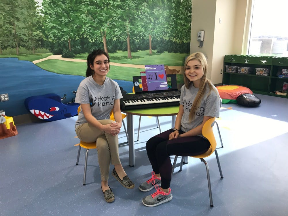 Healing Hands uses music to make a difference
