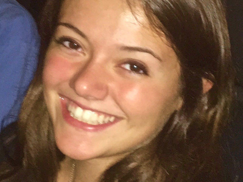 Madison DeVries, age 20, was a junior at UNC. Photo courtesy of John DeVries.