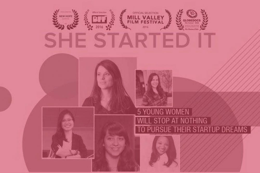 Documentary follows female entrepreneurs