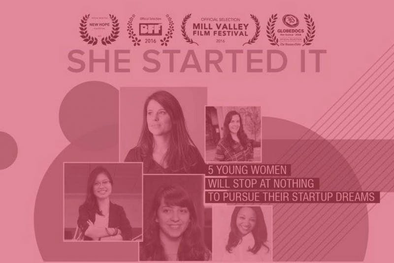 """The CoOperative office in Graham will show """"She Started It,"""" a documentary about female entrepreneurs, on Thursday at 6:30 p.m. Photo courtesy of Chelsea Dickey."""