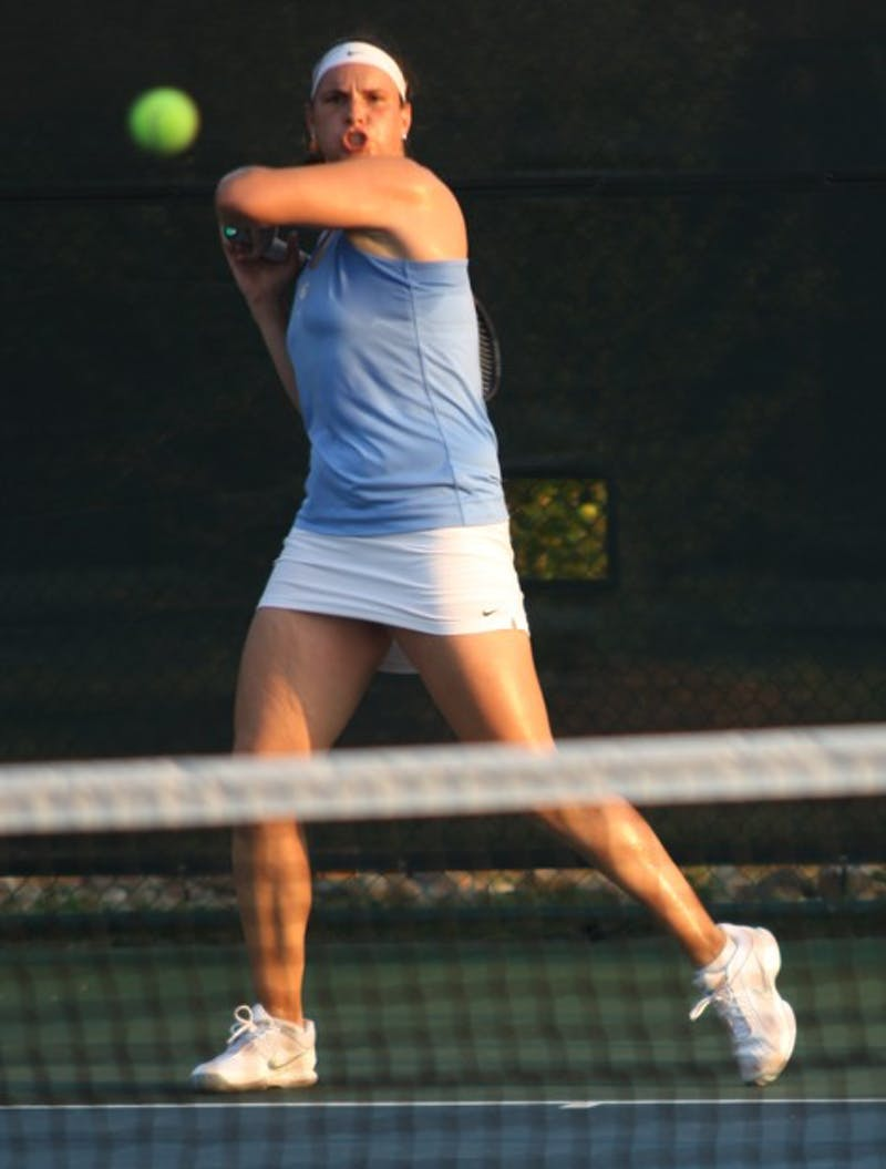 UNC's Jelena Durisic and fellow co-captain Shinann Featherston came up with big victories against FSU.