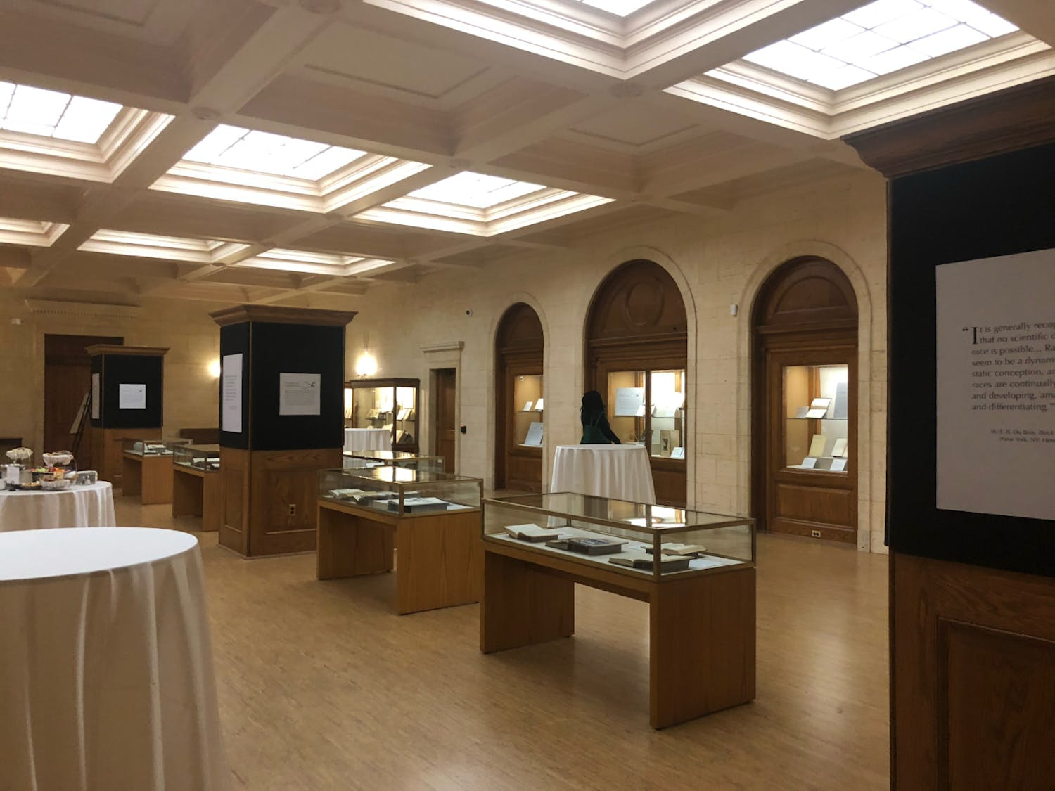 """UNC Libraries opened the exhibition, """"Race Deconstructed: Science and the Making of Difference"""" in Wilson Library on Feb. 13."""