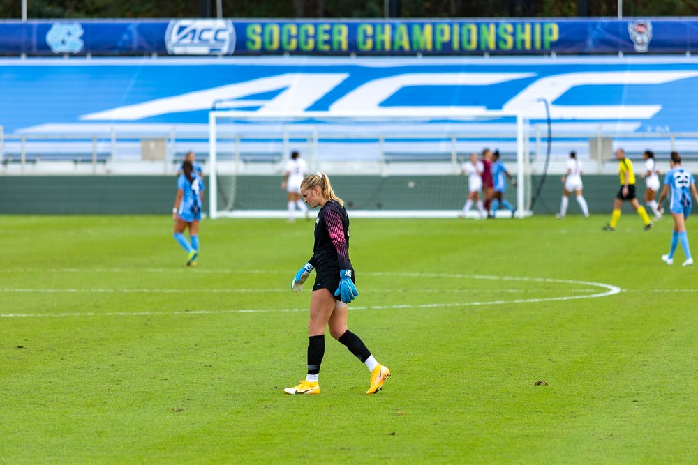 Late rally from UNC women's soccer not enough to secure ACC Championship