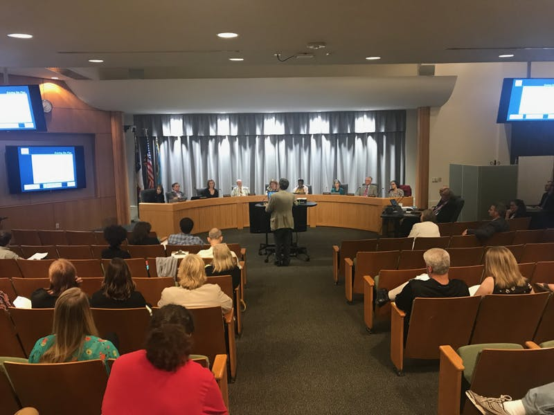 The Chapel Hill Town Council met on Wednesday night.