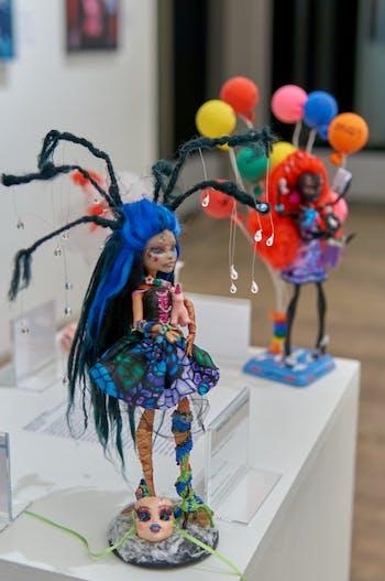 "Art from the ""Art of Mental Health"" exhibit. Photo courtesy of Robert Zimmerman."