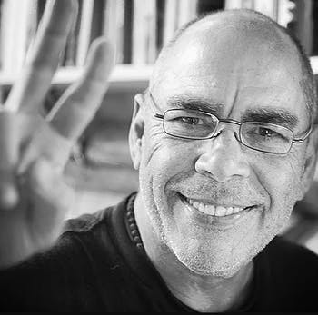 A photo of the poet Jimmy Santiago Baca. Photo courtesy of Jimmy Santiago Baca.