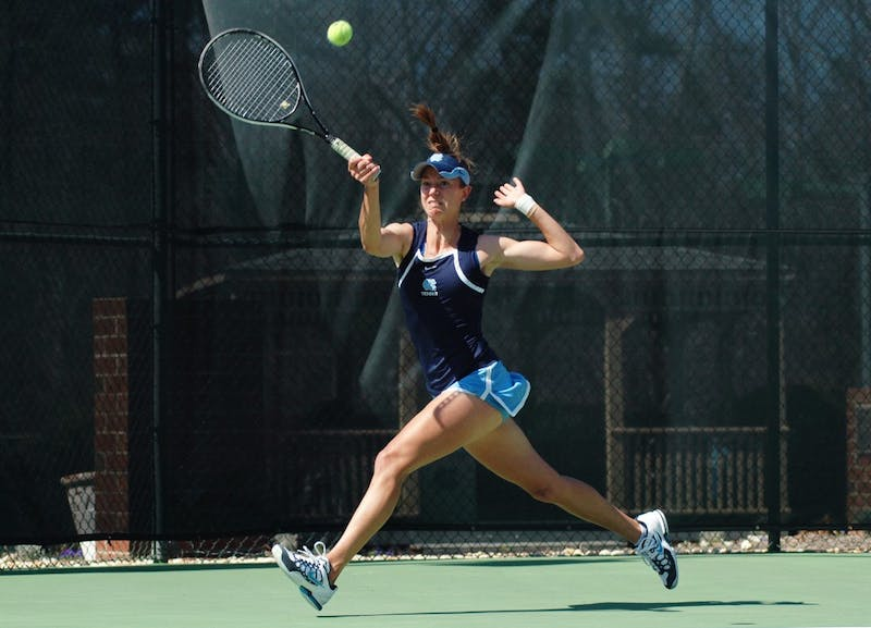 The women's tennis team defeated Georgia Tech 4-0 and Clemson 4-2 in two ACC matches in Chapel Hill this weekend.