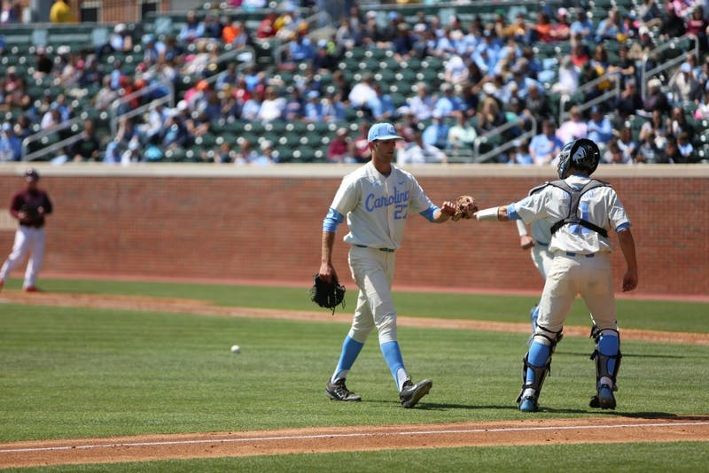 The UNC baseball team took on Virginia Tech in a three game series over the weekend at Boshamer Stadium.