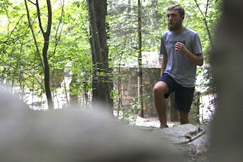 Stephen Mulherin, a senior cross country runner, is always looking for ways to challenge himself.