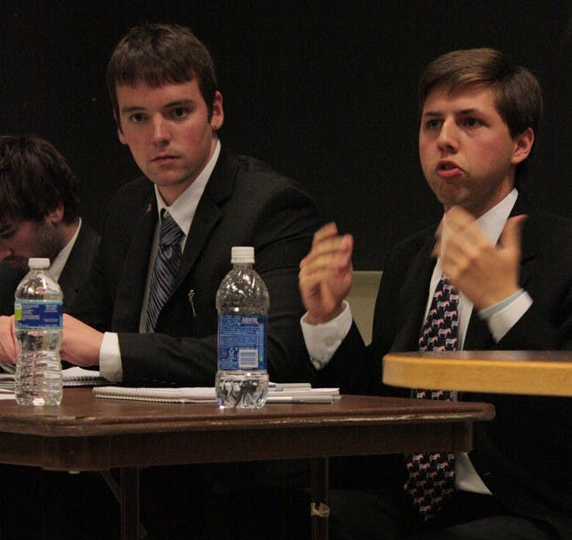 College Republicans and Young Democrats face off in debate