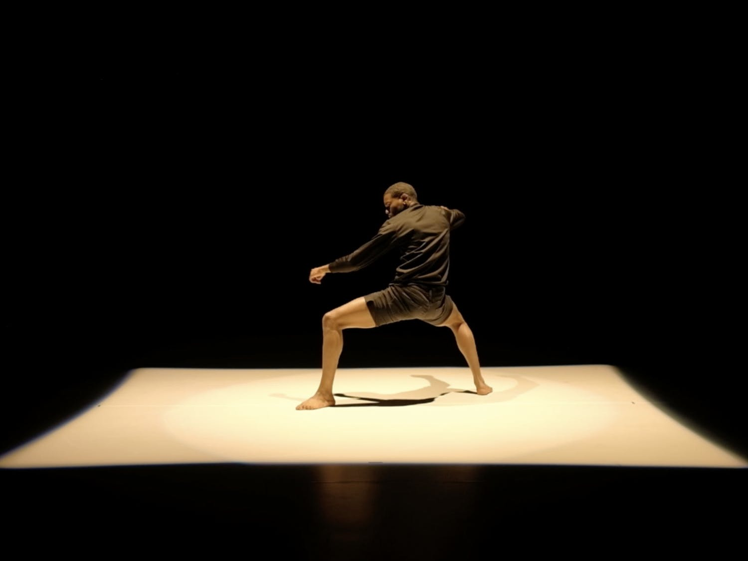 """Anthony """"AyJaye"""" Nelson's dance performance called Pain, Trauma, Triumph, will be the first performance to be live streamed in the Carolina Performing Arts' Commons Festival. Photo courtesy of Wo Imaging."""